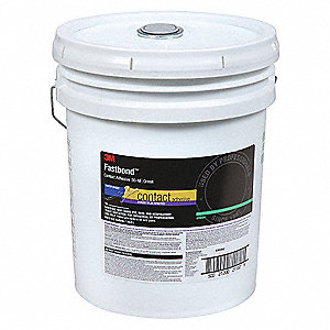 Contact Adhesive,Pail,5 gal,Green