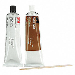 Epoxy Adhesive,Kit,2 oz,Translucent,PK6