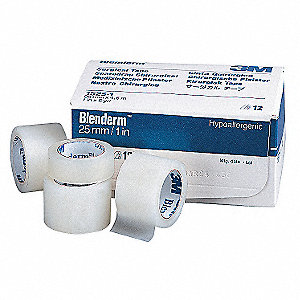 Surgical Tape,Clear,1/2 In. W,PK240