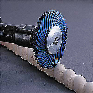 Radial Bristle Disc,TC,2In Dia,220G,PK80