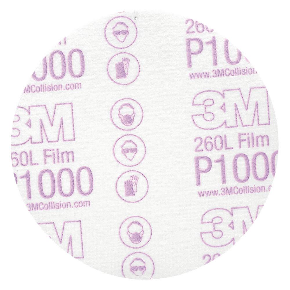 3m Adhesive Backed No Hole Sanding Discs Fine 5