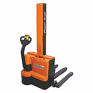 Fork Over Base Stacker,2200lb,62 In Lift
