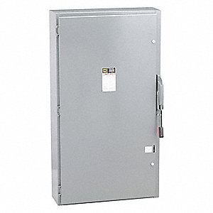 Safety Switch, 1 NEMA Enclosure Type, 400 Amps AC, 250 HP @ 600VAC HP
