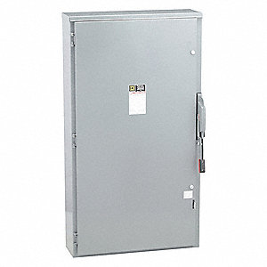 Safety Switch, 3R NEMA Enclosure Type, 400 Amps AC, 250 HP @ 600VAC HP
