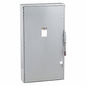Safety Switch, 3R NEMA Enclosure Type, 600 Amps AC, 400 HP @ 600VAC HP