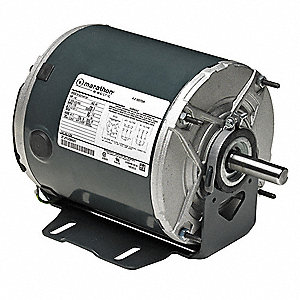 1/4 HP Farm Duty Motor,1725 Nameplate RPM,115 Voltage,Frame 48Z