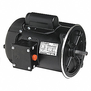 3/4 HP Auger Drive Motor,Capacitor-Start,1725 Nameplate RPM,115/208-230 Voltage,Frame 48NZ