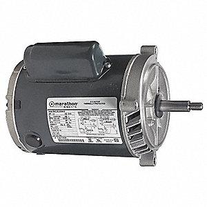 Marathon motors 1 hp jet pump motor capacitor start 3450 for 1 hp jet pump motor