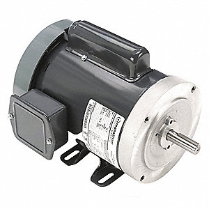1 HP Jet Pump Motor, Capacitor-Start, 3450 Nameplate RPM, 115/230 Voltage, 56C Frame