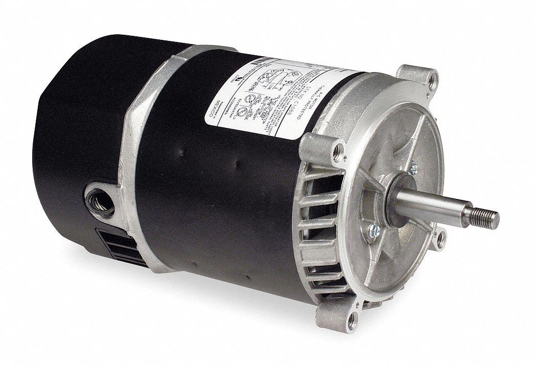 MARATHON MOTORS 1/3 HP Jet Pump Motor, Split-Phase, 3450 Nameplate RPM, 115  Voltage, 56J Frame - 2K410|5KH39EN2506X - GraingerGrainger