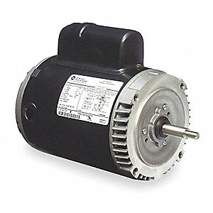 1-1/2 HP Jet Pump Motor, Capacitor-Start, 3450 Nameplate RPM, 115/230 Voltage, 56J Frame