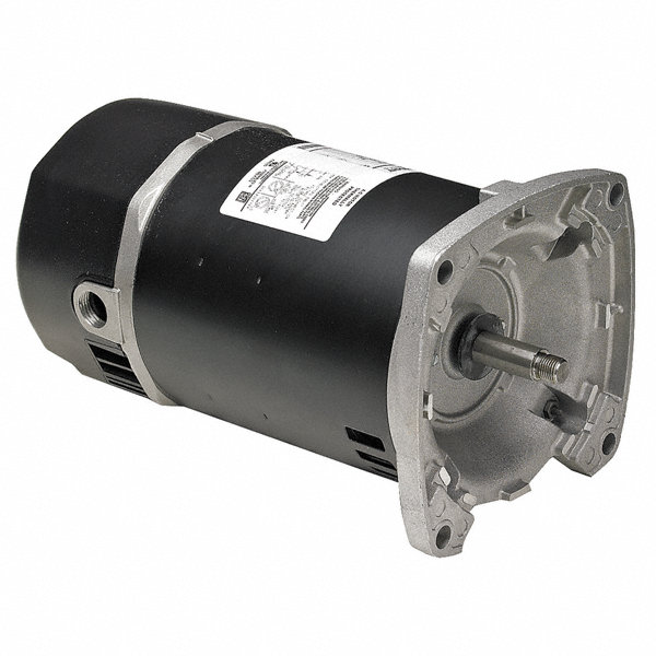 Marathon motors 1 1 2 hp square flange pool pump motor for Square flange pool pump motor