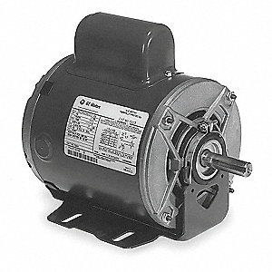 1/4 HP General Purpose Motor,Capacitor-Start,1725 Nameplate RPM,Voltage 115/230,Frame 48Z