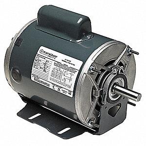 1/3 HP General Purpose Motor,Capacitor-Start,1140 Nameplate RPM,Voltage 115/230,Frame 56