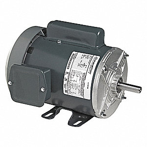 1/2 HP General Purpose Motor,Capacitor-Start,3450 Nameplate RPM,Voltage 115/208-230,Frame 56