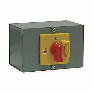 Disconnect Switch,6 In. W,4 In. D