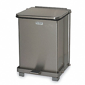 Waste Container,17 In. H,12 In. W