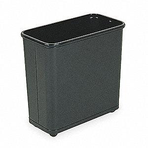 Rubbermaid Commercial Trash Can 7-1//2 Gallon FGWB30RBK Rubbermaid Commercial Products Black