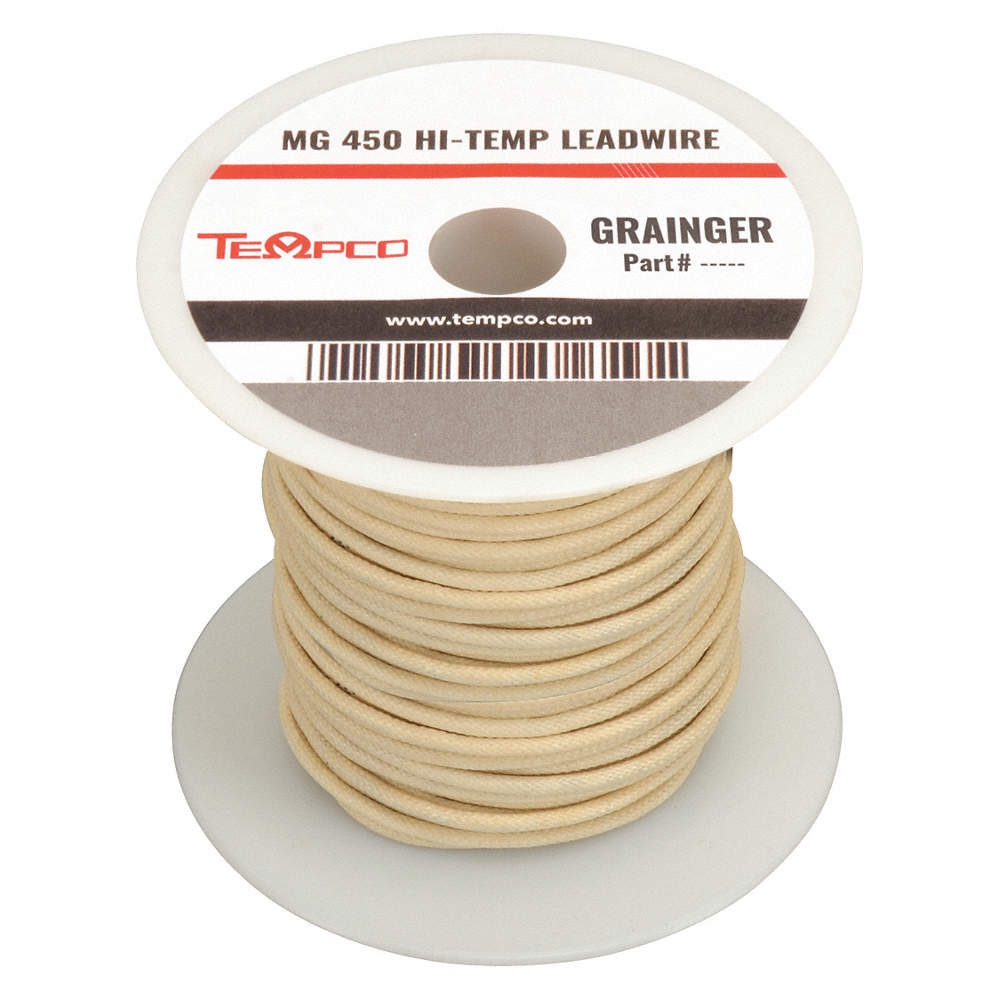 TEMPCO LDWR-1012 Wire,High Temperature