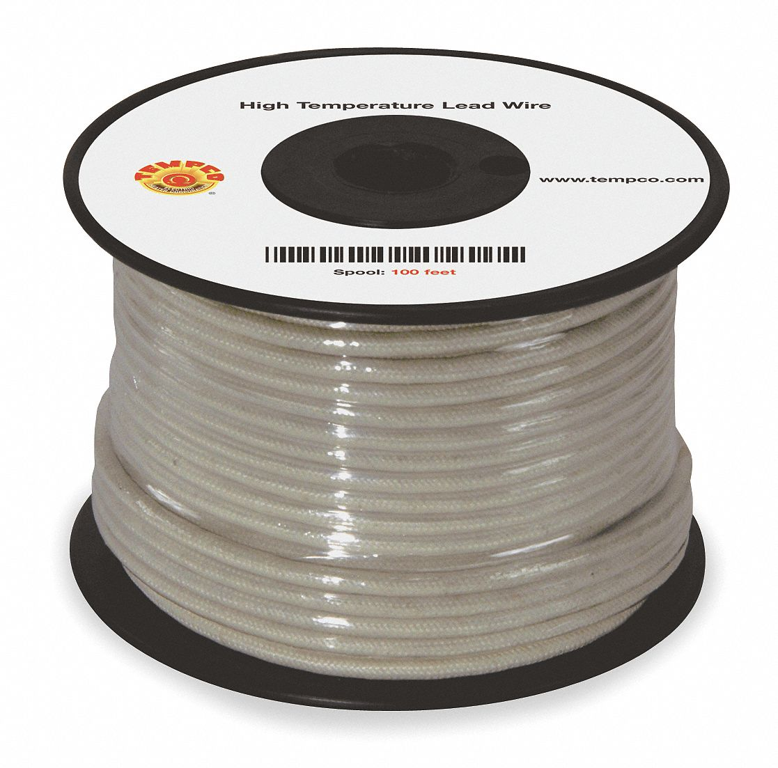 TEMPCO 100 ft., 600VAC High Temperature Lead Wire with TGGT Cable ...