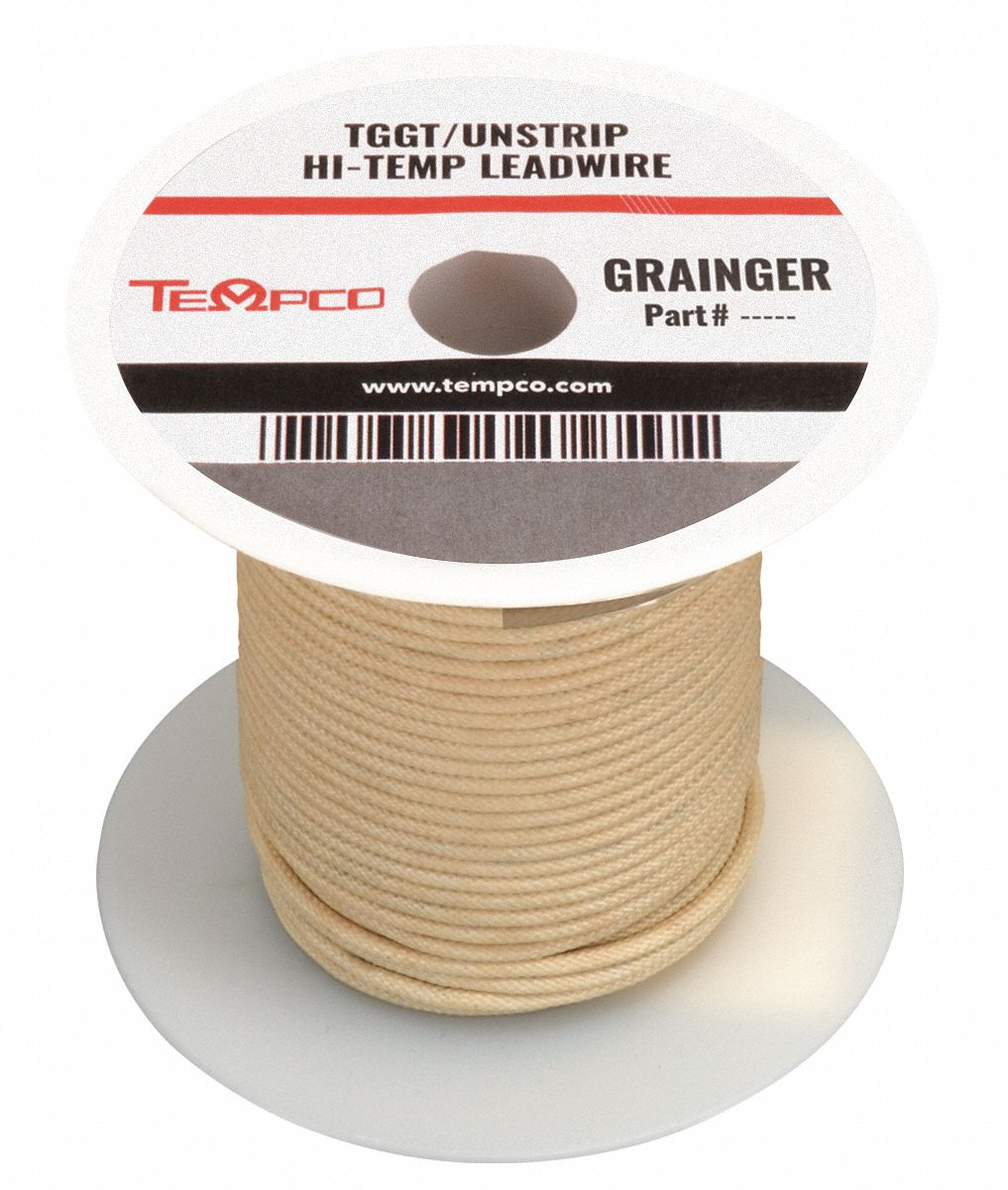 #16 AWG High Temperature Heater Hookup Wire TGGT Appliance Grade Priced Per Foot
