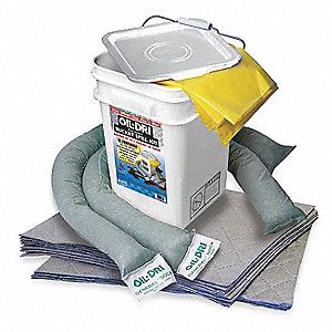 Spill Kit,15-1/4 In H,5 gal.,Universal