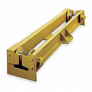 Bridge Crane End Truck Kit,6000 Lb Cap