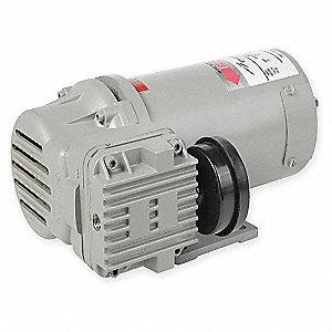 thomas 1/3 hp piston air compressor, 12vdc, -/100 max  psi cont /int  -  2kfu8 270025 - grainger