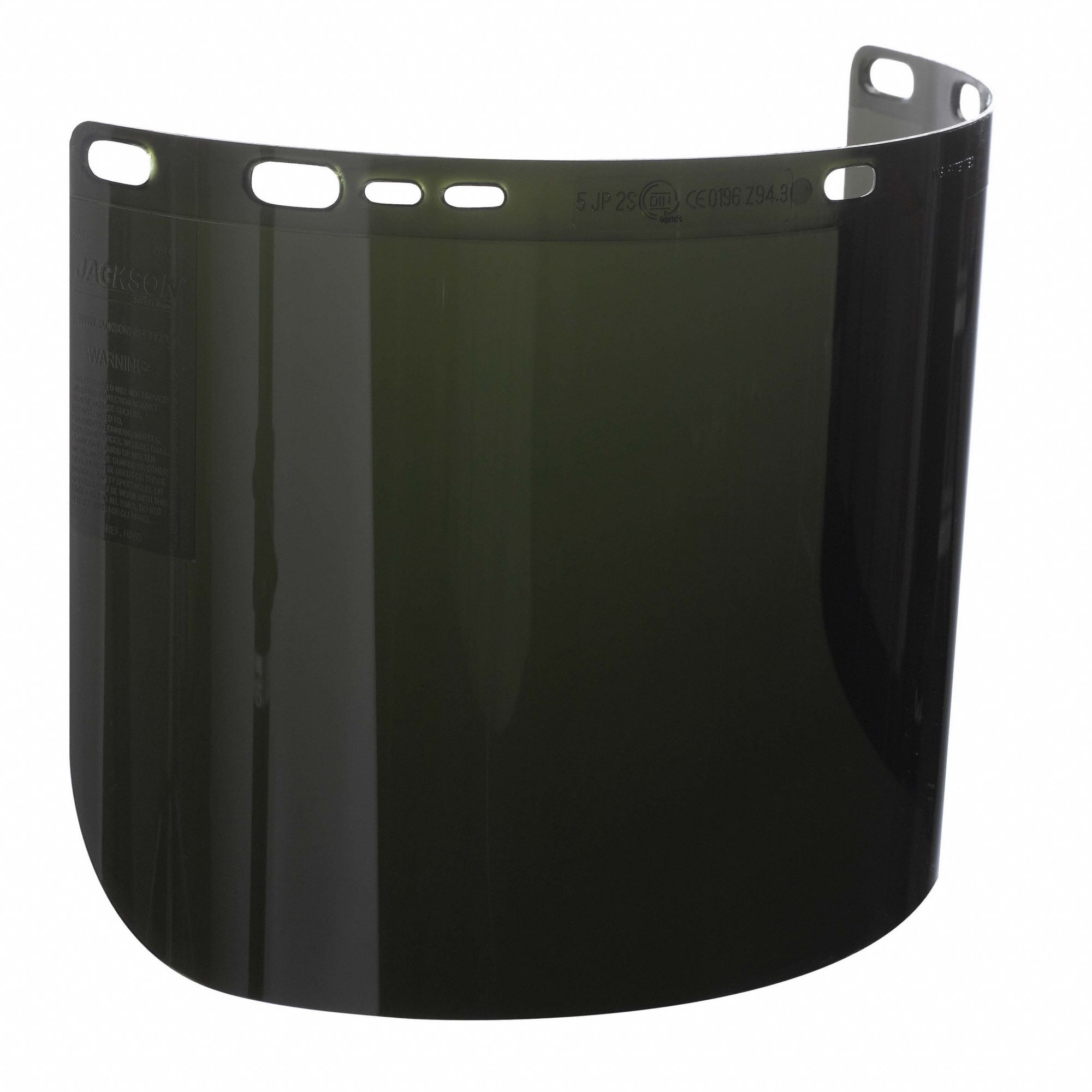 Face Shield,IRUV 5.0,15-1/2 In. W