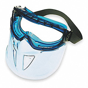 Anti-Fog, Scratch-Resistant Splash Goggles, Clear Lens Color