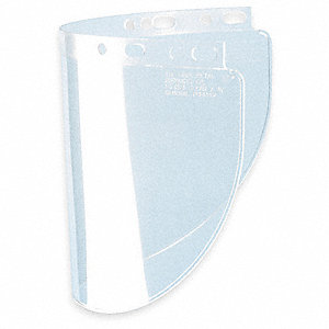 Faceshield Visor,Propionate,Clr,8x16-1/2