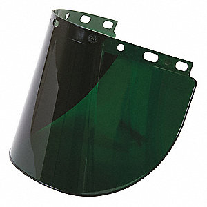 Faceshield Visor,Prpinate,5IR,8x16-1/2in