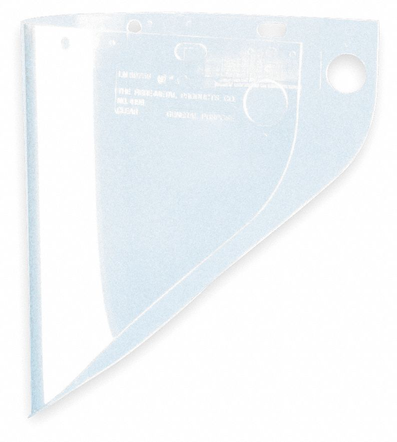 Faceshield Visor,  For Use With Series F-400, F-500, FH-66