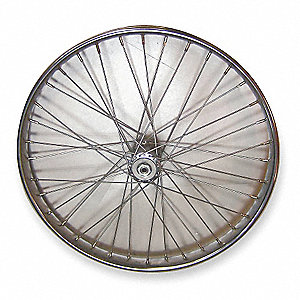 Bicycle Wheel Front, For Use With Mfr. No. INBORG or Any Bicycle With 26x2.125 Coaster Brake Wheels