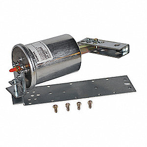 "10-1/2"" x 4-3/4"" x 10-1/2"" Linear Pneumatic Actuator, 8 to 13 psi, 2-3/8"", Includes: Pivot Post and"