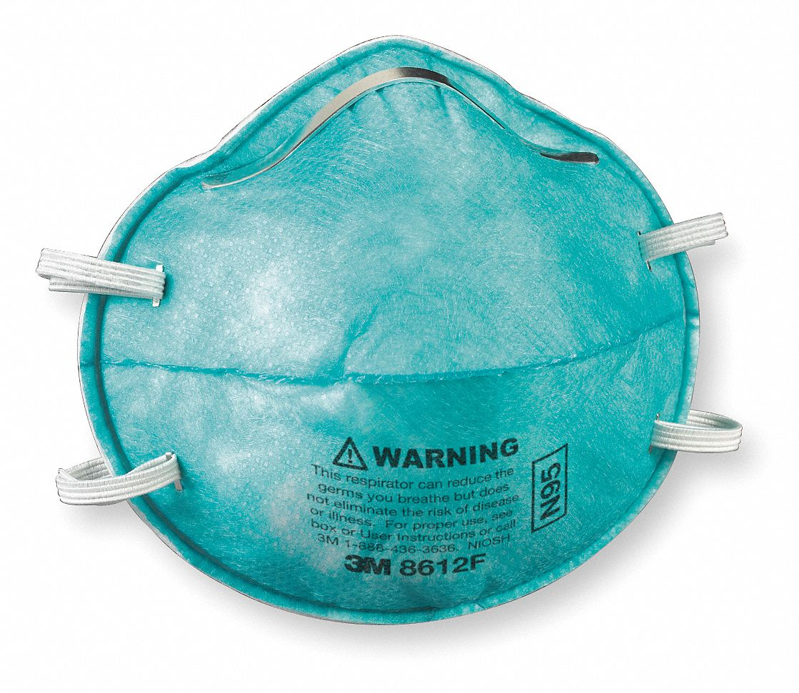 Particulate Disposable Molded Pk 3m Universal Respirator N95