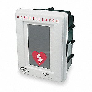 Defibrillator Storage Cabinet,Wall Mount