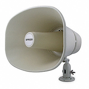 Horn,Weatherproof,11 x 8 In,30W