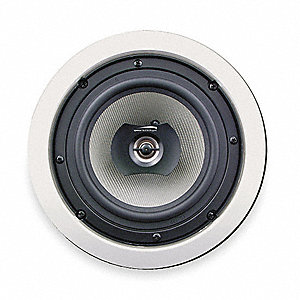 Speakers,6 1/2 In,In-Ceiling,PK2