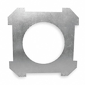 Bracket,In-Ceiling,8 In,PK2