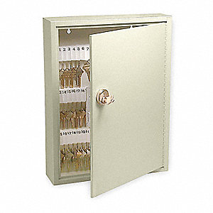 Key Control Cabinet,Keyable,65 Keys