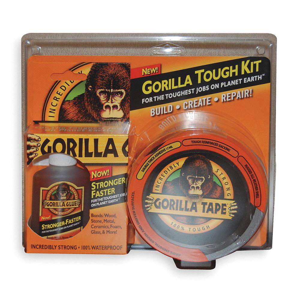 GORILLA GLUE Glue and Tape Kit, 1 EA - 2KKF1|5005801 - Grainger