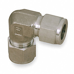 "316 Stainless Steel A-LOK® x A-LOK® Elbow, 90°, 3/4"" Tube Size"