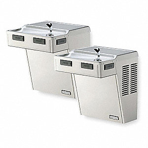 WATER COOLER,8 GPH,SS,27 1/4 IN H