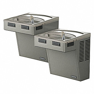 WATER COOLER,WALL MOUNT,8 GPH,36 IN