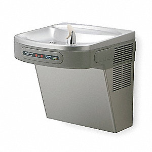 Stainless Steel Electronic Sensor Water Cooler, 8.0 gph
