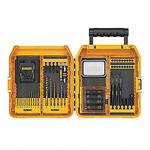 Screwdriver Bit Kit,Drill & Drive,65Pc