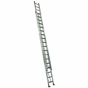 Extension Ladder, Aluminum, IA ANSI Type, 20 ft. Ladder Height
