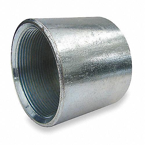 Mueller cople acero galvanizado 4 pulg hierro for Casetas de hierro galvanizado