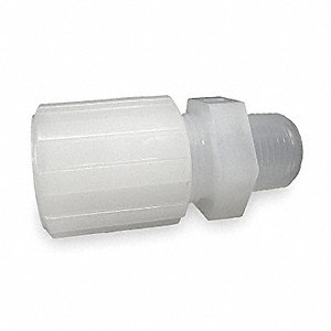 Male Straight Adapter,45 deg.,Flare